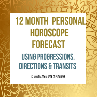 12 Month Personal Horoscope Forecast