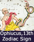 Ophiucus, The 13th Sign Of The Zodiac