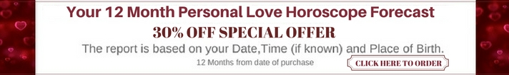 30% Off Your 12 Month Love Horoscope Forecast