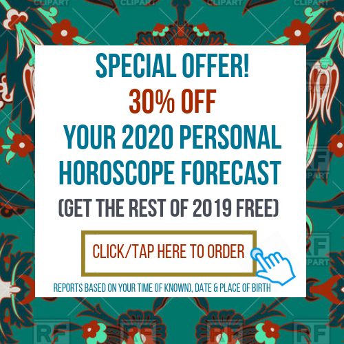 30% Off Your 12 Month Personal Horoscope Forecast & Character Analysis Combination Report