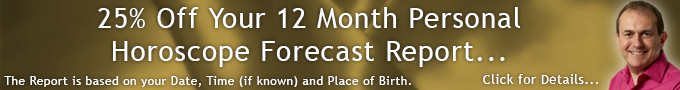 25% Off Your 12 Month Personal Horoscope Forecast Report