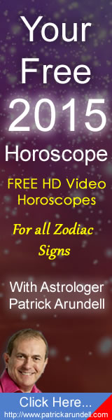Patrick Arundell Astrology, Sparkling HD Horoscope Videos for every zodiac sign for 2015
