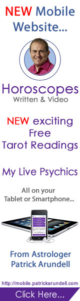 All your Favourite Written & Video Horoscopes, NEW and exciting Free Tarot Readings & My Live Psychics all on your Tablet or Smartphone...