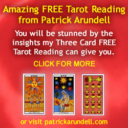 Patrick Arundell Astrology, Free Tarot Readings