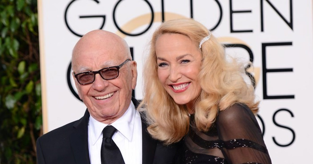 Jerry Hall and Rupert Murdoch Horoscope