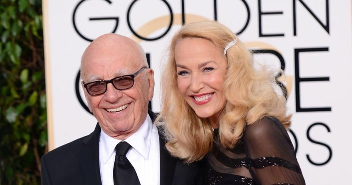 Jerry Hall and Rupert Murdoch Horoscope