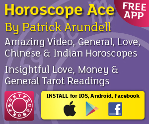 Horoscope ACE App for Android and iPhone from Astrologer Patrick Arundell
