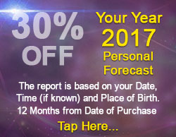 30% off your 2017 Personal Horoscope Report