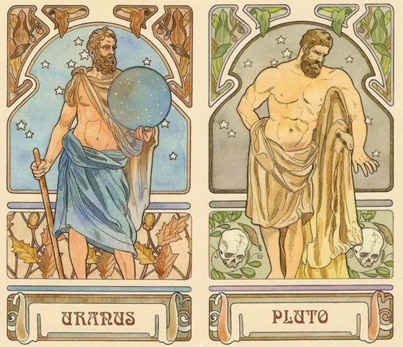Uranus and Pluto cycle