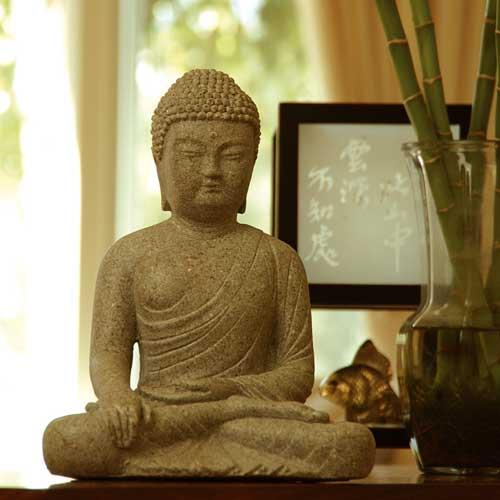 November - Monk in Statue