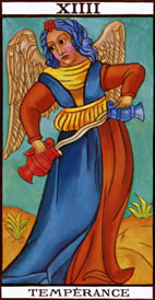 Temperance Love Tarot Meaning