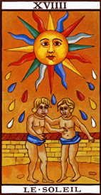 The Sun Love Tarot Meaning