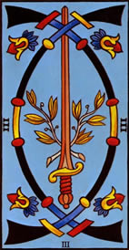 Three of Swords Tarot Card Meaning