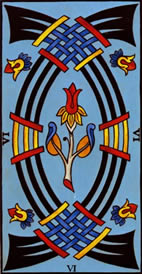 Six of Swords Love Tarot Meaning