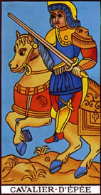 Knight of Swords Love Tarot Meaning