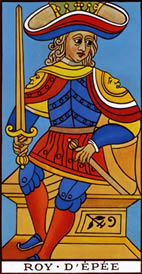 King of Swords Love Tarot Meaning