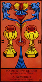 Two of Cups Love Tarot Meaning
