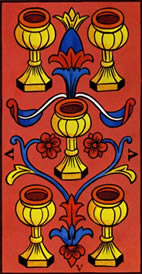 Five of Cups Love Tarot Meaning