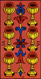Six of Cups Love Tarot Meaning