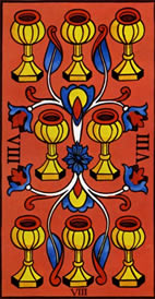 Eight of Cups Love Tarot Meaning