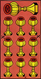 Ten of Cups Love Tarot Meaning