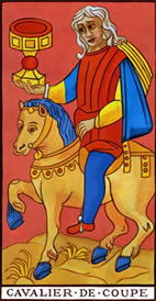 Knight of Cups Love Tarot Meaning