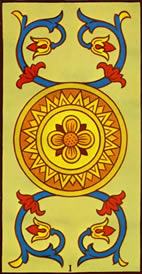Ace of Pentacles Love Tarot Card Meaning