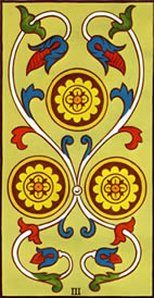 Three of Pentacles Love Tarot Meaning