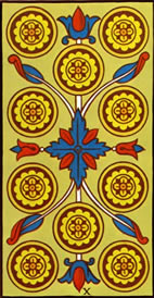 Ten of Pentacles Love Tarot Meaning