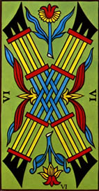 Six of Wands Love Tarot Meaning