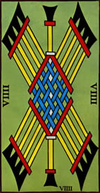 Nine of Wands Love Tarot Meaning
